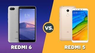Speedtest Xiaomi Redmi 6 vs Redmi 5: Helio P22 vs Snapdragon 450