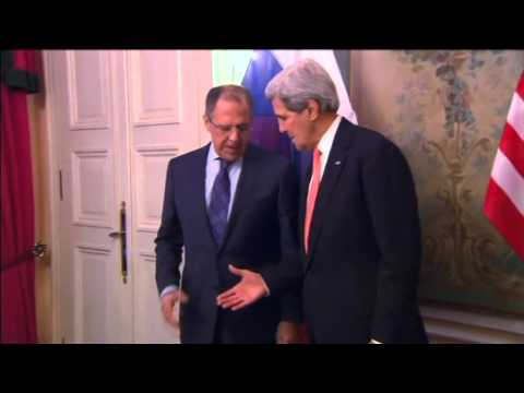 Ukraine crisis talks: John Kerry to meet Sergei Lavrov in Geneva today