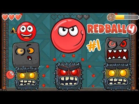 La Bolita Roja contra los Jefes | Juego para niños Red Ball 4 | Juegos Infantiles para niños
