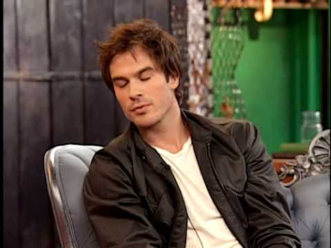 Ian Somerhalder at It's On With Alexa Chung Video