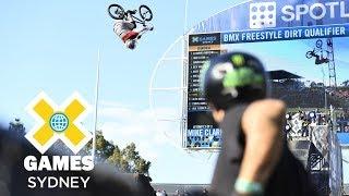 FULL SHOW: BMX Dirt Qualifier at X Games Sydney 2018