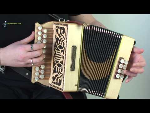 FREE Accordion Lesson: Learn Irish Music Online as Easy as ABC (Tutorial 3 First tune breakdown)