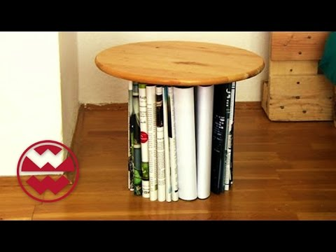 upcycling in der wohnung welt der wunder youtube. Black Bedroom Furniture Sets. Home Design Ideas