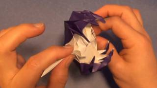 Fold An Origami Space Monster (aka Venus Flytrap) By Jeremy Shafer