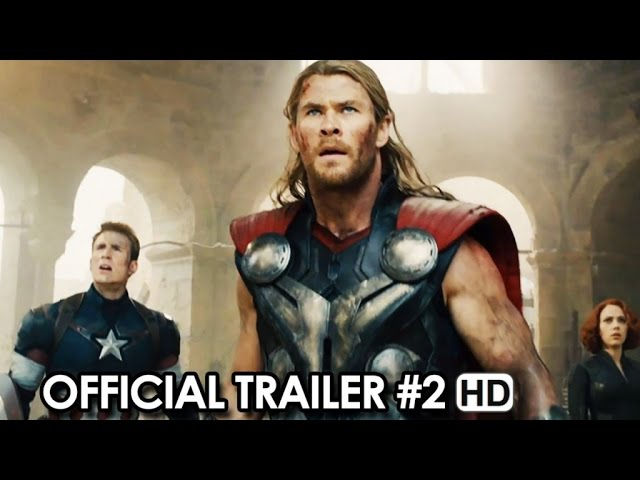 Avengers: Age of Ultron Trailer #2 (2015) - Avengers Sequel Movie HD