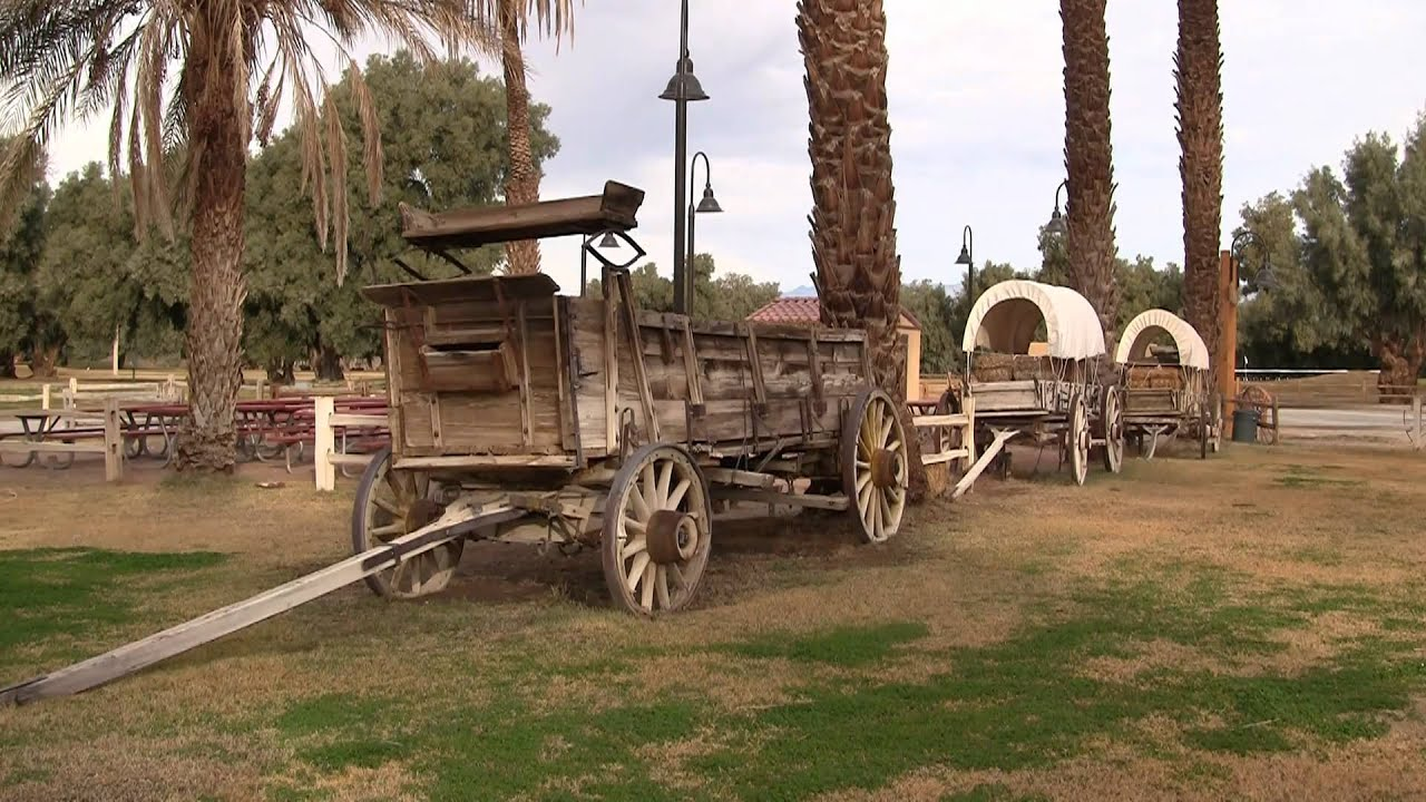 Furnace Creek Inn To Furnace Creek Ranch Death Valley