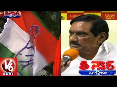 Will Hang Myself If TDP Allies With Congress, Says AP Dy CM Krishnamurthy | Teenmaar News