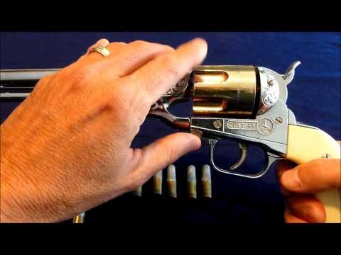 Vintage Cap Guns, Hubley Colt 45