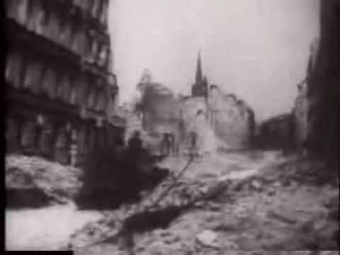 Fall of Berlin with Soviet Anthem