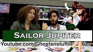 Sailor Jupiter Amanda Miller Voice Actress - Sailor Moon - Stan Lee Comic Con - NerdCulture