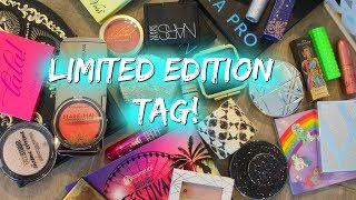 THE LIMITED EDITION TAG!
