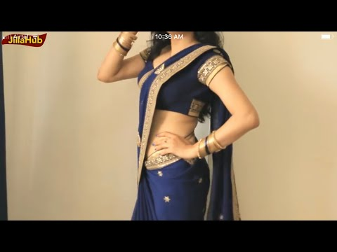 How To Wear A Saree Super Easy & Perfect Way:Sari Drape Step by Step In 2 Mints(JIILAHUB) thumbnail