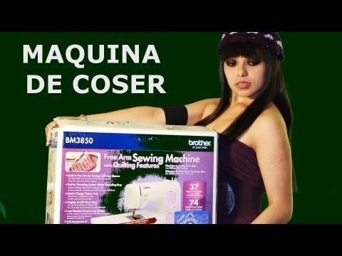 La maquina de coser Brother en español