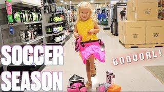 FIRST YEAR OF SOCCER | EVERYTHING YOU NEED FOR SOCCER | KIDS SOCCER GEAR