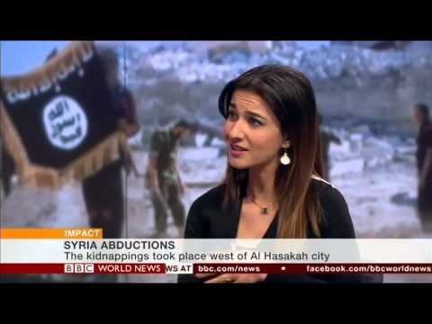 BBC: Islamic State 'abducts dozens of Christians in Syria'