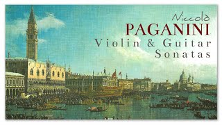 Niccolò Paganini Violin & Guitar Sonatas - Instrumental Classical Music | Recherge Exciting Focus
