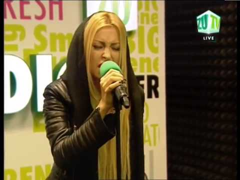 Andreea Balan Nothing compares to you LIVE @ Radio ZU