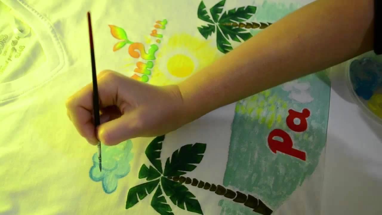 Надписи красками своими руками 49