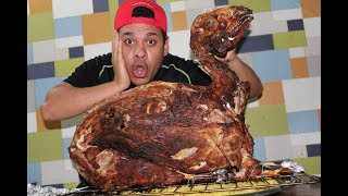 تحدي اكل خروف مشوي بوزن 30كيلو!! اول ايام رمضان