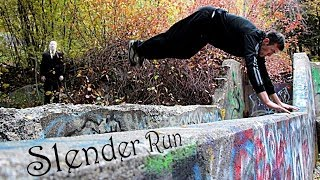 Slender Run - Parkour Escape from Slender Man