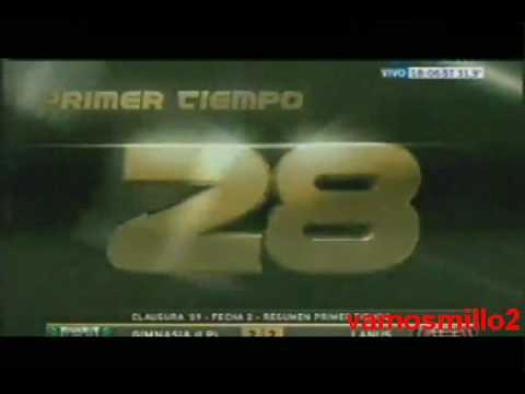 Gimnasia LP 3 Lanus 2 - Torneo Clausura 2009