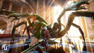 Unreal Engine 4 | Zelda: Armogohma Fight