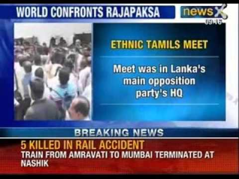 Friction Over Sri Lanka Shows At Commonwealth Meet - News X video