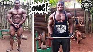 24 Year Old Natural Bodybuilder Is HUGE! With Minimum Equipment And No Supplements
