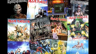 IRON MAIDEN - ALL ALBUMS