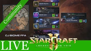 Im Zweifel: FFA! - Starcraft 2: LotV Communitymatches LIVE #73 [Deutsch | German]