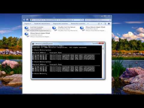 Change / Spoof Your MAC Address in Windows 7 by Britec