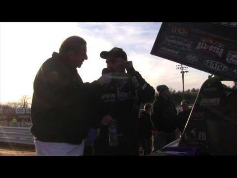 Lincoln Speedway 410 Sprint Car Victory Lane 3-29-15