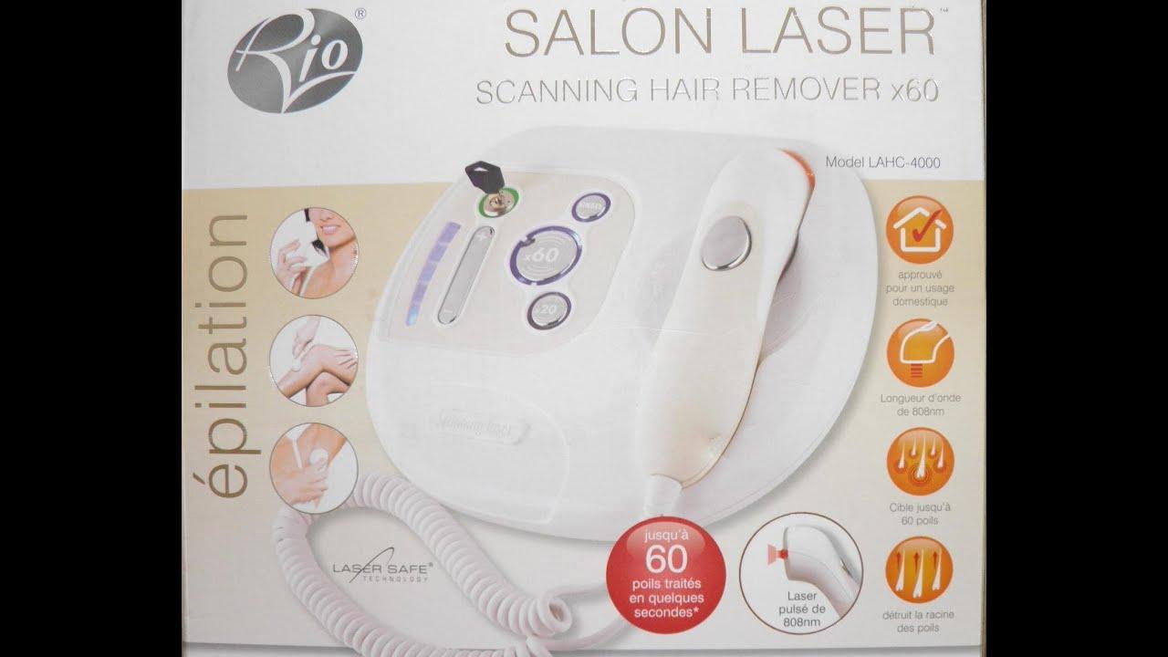 jak dzia a rio salon laser scanning hair remover x60 youtube