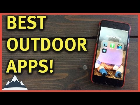 Best Apps For Backpacking and Hiking