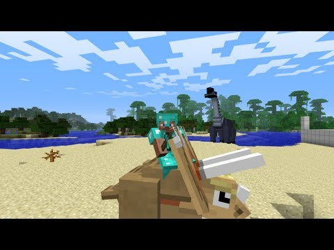 Minecraft Dinosaurs - Part 10 - Building the Tree House