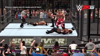 NEXT-GEN Walkthrough - WWE 2K15 2K Showcase Part 4 — Elimination Chamber Match