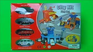 Firefighter, Police Car, Police Helicopter ???? ???????? Fire Engine Rescue Station Toy Unpacking