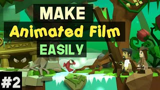 How To Make Animated Movie On Your Android #2 Using Toontastic 3D