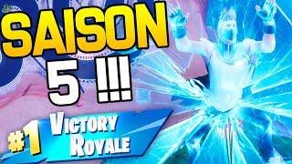 PREMIER TOP 1 DE LA SAISON 5 !   Fortnite Battle Royale