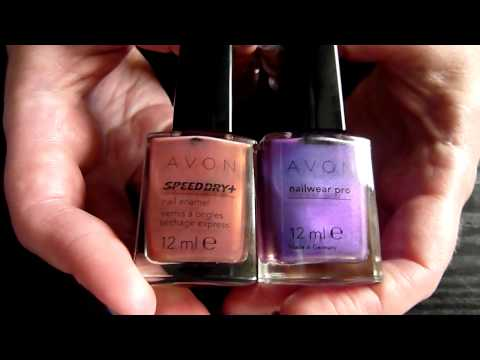 Nail Polish Haul! Includes New BarryM Limited Edition Effects Lilac Foil Dec 2011 HD Video
