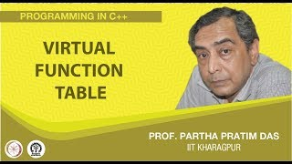 Virtual Function Table (Lecture 46)