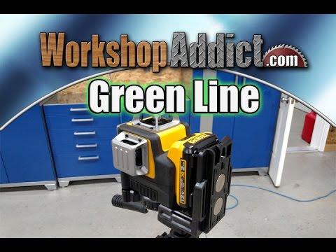 Dewalt DW089LG Green Line Laser Review