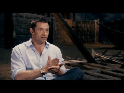 Behind the scenes look at Les Mis - Les Misrables - Hugh Jackman - Flixster Video