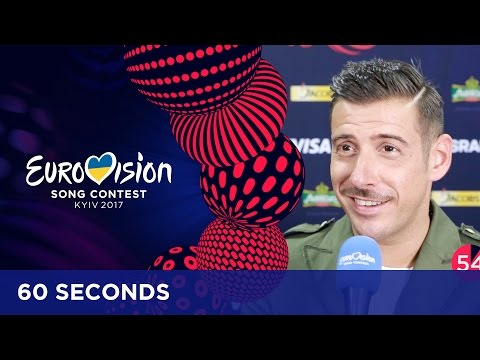 60 Seconds with Francesco Gabbani from Italy