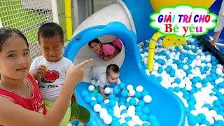 TRÒ CHƠI NHÀ BÓNG CẦU TRƯỢT | ball home slide game 🏠 Giải trí cho Bé yêu