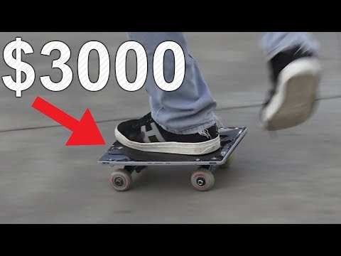 REAL LIFE $3000 Surface Book 2 Tablet Skateboard (Riding Tab 2)