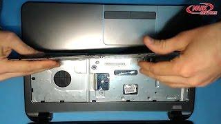 Ремонт ноутбука . Замена клавиатуры в ноутбуке HP 255 G3 - Разборка ноутбука HP 250 G3