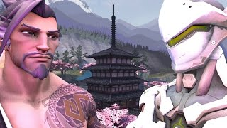 Leaked Clip from the Hanzo and Genji Overwatch Short