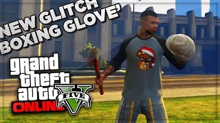 GTA 5 Online Funny Moments Boxing Glove Glitch! - GTA Online PS4 Gameplay - (GTA V Funny Moments)