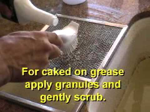 How to clean your stove and hood with quick degreaser for Homemade cleaning solution for concrete